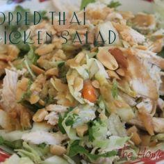 Chopped Thai Chicken Salad recipe