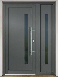 GAVA 917+917/2 Basaltgrau vstupné dvere