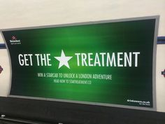Heineken advert seen at a tube station yesterday. This links to this campaign: http://www.marketingmagazine.co.uk/article/1306325/heineken-star-cabs-competition-offers-drinkers-free-london-taxi-rides