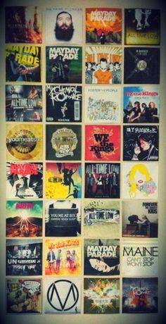 Alternative rock albums. :)