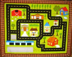 Great traveling car play mat!