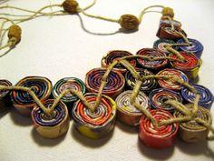 Laminados Bead papel Pingentes (TONELADAS de fotos) - jóias e bijuterias