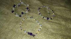 Fibromyalgia healing gemstone bracelets! Handmade silver plated Amethyst, Citrine and rose quartz! https://m.facebook.com/LaceOfHeartsJewellery