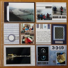 Still day same material - the My Life kit from Papero Amo. Budapest, Happy Mail, Blues, Gallery Wall, Bird, Pocket, Day, Frame, Picture Frame