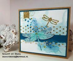 #Stampin'Up! *nog meer Dragonfly Dreams