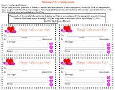 valentine gram template | Related Pictures candy gram for high school senior design dazzle