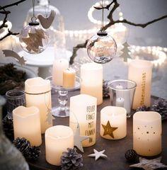 LED-Weihnachtskerzen von Impressionen