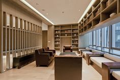 Gallery of Jiahe Boutique Hotel / Shangai Dushe Architecture Design - 24 Hotel Lounge, Lobby Lounge, Hotel Lobby, Lounge Chairs, Estilo Interior, Lobby Interior, Spa Furniture, Plywood Furniture, Modern Furniture
