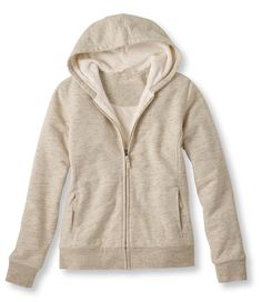 UNIQLO Faux Fur Lined Sweat Zip Hoodie ($46) ❤ liked on Polyvore ...