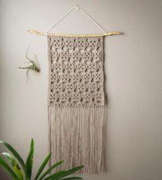 Stella Lace Crochet Wall Hanging