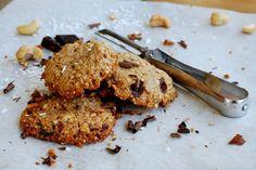 Crisp Cookies mit Cashew-Nüssen