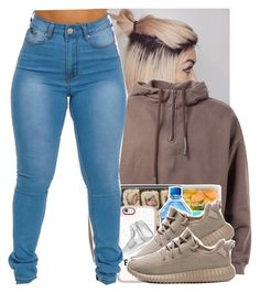 """""""Yeezy """" by g0ldenchicaa ❤ liked on Polyvore featuring Casetify and adidas"""
