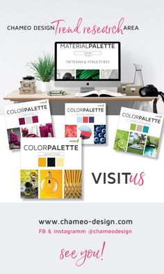 Always looking for the latest trend? Check out our Branding design & trends area! We are inspiring CMF designerns with COLOR & MATERIAL PALLETTES, offering unique branding design solutions for startups, entrepreneurs & bloggers! As well as individual stationary and corporate branding from business cards, letterheads to website design. Have a look and meet us @ *CHAMEO DESIGN* instagram & facebook @CHAMEODESIGN