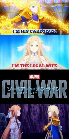 Anime Couples Manga, Cute Anime Couples, Anime Girls, Online Anime, Online Art, Anime Mems, K Project Anime, Black Clover Anime, Asuna