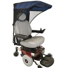 Max Protection Weatherbreaker Canopy For Mobility Scooters