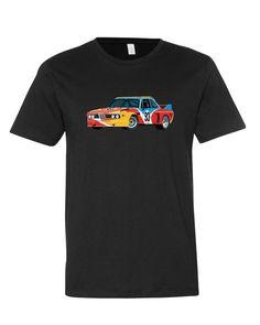 BMW 3.0 CSL T-Shirt, Calder Art Car Livery