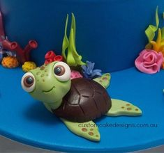 Finding Nemo 1st Birthday Cake - Cake by Custom Cake Designs