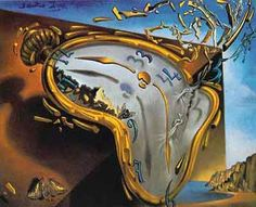 "Salvador Dali's ""Soft Watch at Moment of First Explosion"". Love."