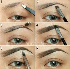 Aprende a maquillar y depilar tus cejas en mi Blog! http://makeupfor-breakfast.blogspot.com.ar/2015/08/todo-sobre-cejas.html