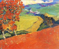 Selden Connor Gile (American 1877-1947)   The Red Earth, c. 1928