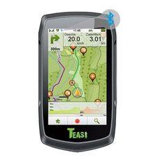 TEASI one 3 Outdoor-Navigationsgerät, Das Freizeit-Navi zum Radfahren, Wandern, Ski- und Bootfahren Jetzt verfügbar!