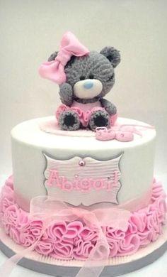 Teddy Ballerina Cake