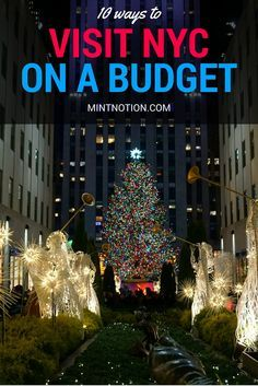 10 ways to visit New York City on a budget. I saved SO MUCH money on my New York trip with these tips! Love this guide for first-time visitors!