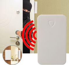 433MHz Wireless Home Burglar Security Window Door Magnetic Sensor Alarm System