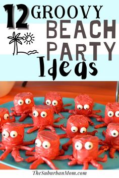 It's summer! It's time to hit the beach! How about a fun summer beach party now that the sunny season has begun? Here are some beach party ideas to help you plan the perfect event of the season! Check out this blog for easy beach party decorations, simple yet delicious beach-themed food and snacks, entertainment and game ideas + more! From sandcastle cakes to beach party invitation printables, we have it all! What are you waiting for? Let's get beach party planning! #freeprintables… Beach Theme Food, Beach Themes, Game Ideas, Party Ideas, Beach Party Invitations, Summer Beach Party, Teen Beach, Food Themes, Party Planning