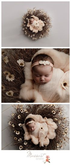 Newborn baby girl in a basket surrounded by flowers photographed by Massart Photography, a Rhode Island newborn, family and wedding photographer. Foto Newborn, Newborn Baby Photos, Baby Poses, Newborn Poses, Newborn Shoot, Newborn Pictures, Baby Girl Newborn, Newborns, Newborn Baby Photography
