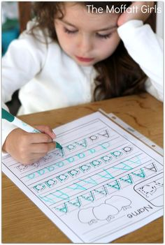 FREEFREEFREE! A-Z Handwriting practice pages!  Just PRINT, place in sleeve protectors and use with a dry erase marker!