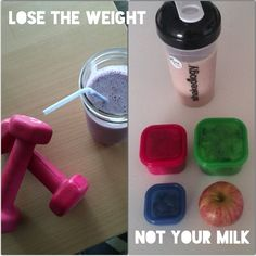Lose the Weight, Not Your Milk