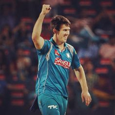 Mitch Marsh collected 2-7 (2 overs) for Pune in the #IPL overnight