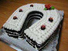 Penová torta , netradičné korpusy, fotopostupy | Tortyodmamy.sk Chocolate Meringue, Meringue Cake, Czech Recipes, Russian Recipes, Cake Cookies, Cupcake Cakes, Cake Recipes, Dessert Recipes, Ice Cream Candy