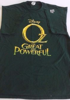 Disney The Great And Powerful Oz T-shirt L Large James Franco Mila Kunis Green #Delta #GraphicTee