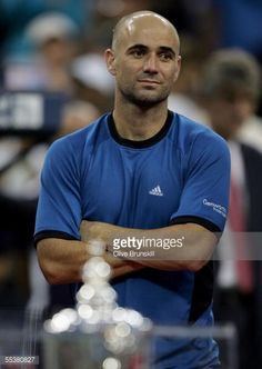 Andre Agassi, US Open 2005.