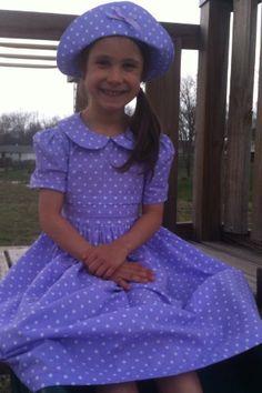 af5e974054c Made to order little girls long modest dress by LittlePrettyPenny on Etsy