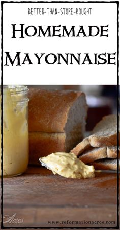 Better than store bought mayo? And no soy oil & preservative? Yes Please! | www.reformationacres.com