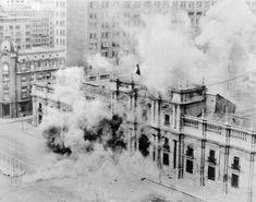 moneda en llamas 11 de septiembre de 1973