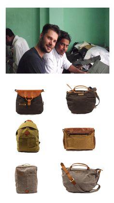 Die Canvas Taschen von Reinhard Margelisch gehörten zu den Favoriten am eco.festival. Reinhard arbeitet mit kleinen Manufakturen in Indien und legt grossen Wert auf nachhaltige Produktion. Canvas ist gewachste Baumwolle. Hier wird nur zertifiziert biologische Baumwolle eingesetzt. Schweizer Fairtrade Design vom Feinsten.