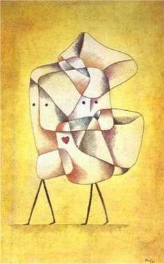 "Paul Klee (1879-1940), ""Siblings"""