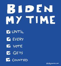 Biden my time (and going to sleep soon, I swear) #election2020 #bidenmytime Go To Sleep, No Time For Me, Company Logo, Comics, Logos, Logo, Comic Book, A Logo, Cartoons