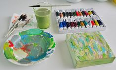 Summer Pinterest Challenge: Paint Party | Young House Love