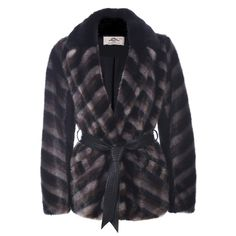 Urbancode Chocolate Faux Stripe Mink Coat: This cosy striped coat in a variety of rich, chocolatey tones will no doubt add a bit of edgy luxe to your wardrobe this season. Crafted from high quality, soft faux mink it's an indulgent piece that stands the test of time, while the faux leather tie cinches in the waist creating a flattering, feminine shape.