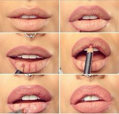 makeup tips How to get fuller kylie jenner lips.step one: get lip injections. or be a normal human and use makeup tricks makeup tips Eyeshadow Makeup, Lip Makeup, Acne Makeup, Witch Makeup, Eyeshadow Ideas, Clown Makeup, Scary Makeup, Eyeshadow Brushes, Costume Makeup