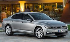 Volkswagen Passat (2016) - Most recent car my Dad has had as a hire car (as of 15/09/2016). Really nice, but the boot opening mechanism is weird, you have to press in the badge to open the boot.
