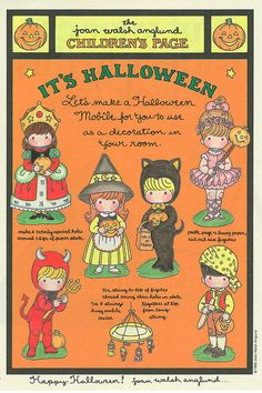 Joan Walsh Anglund Halloween by contrarymary, via Flickr
