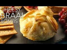 🍴🧀 Cheesy Braai Bombs - Easy and super delicious braai idea 🧀🍴 Rich and creamy Camembert brie cheese topped with the South African classic, Wellington's swee. Looking For A Recipe, South African Recipes, Home Food, Outdoor Cooking, Food For Thought, Vegetarian Recipes, Yummy Recipes, Yummy Food, Favorite Recipes