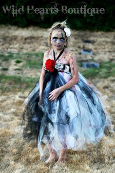 The Beautiful Zombie zombie inspired tutu by WildHeartsBoutique, $60.00