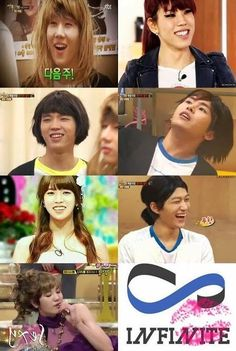 I think it's safe to say that out of all the idol groups, Infinite really makes an ugly bunch of girls (apart from Sungjongie of course) kekeke^^